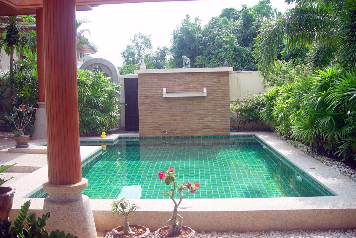 Pranburi green mountain view pool villa zum verkauf for Pool verkauf