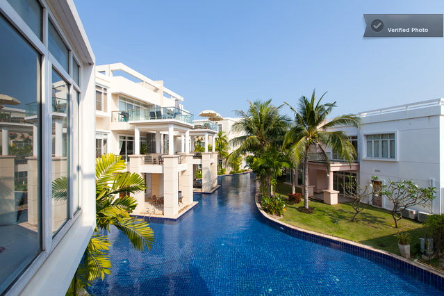 Blue Lagoon Luxury Condominium for Sale - lagoon view