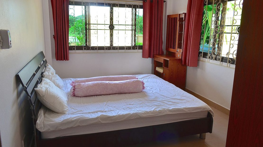 Bedroom - Tropical pool villa for sale in Pranburi