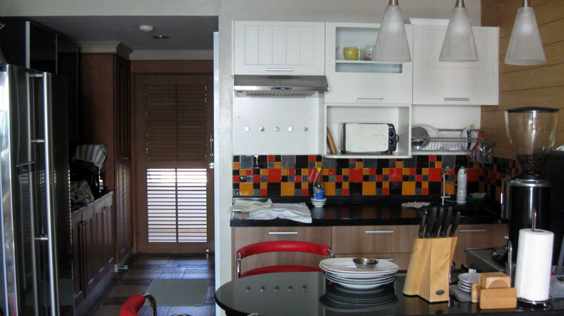 Fully equipped Kitchen at Khao Tao Beach Front Condo for Sale