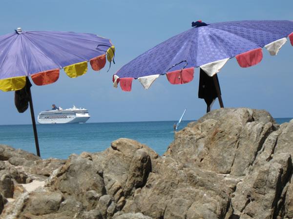 Patong Beach in Phuket Thailand