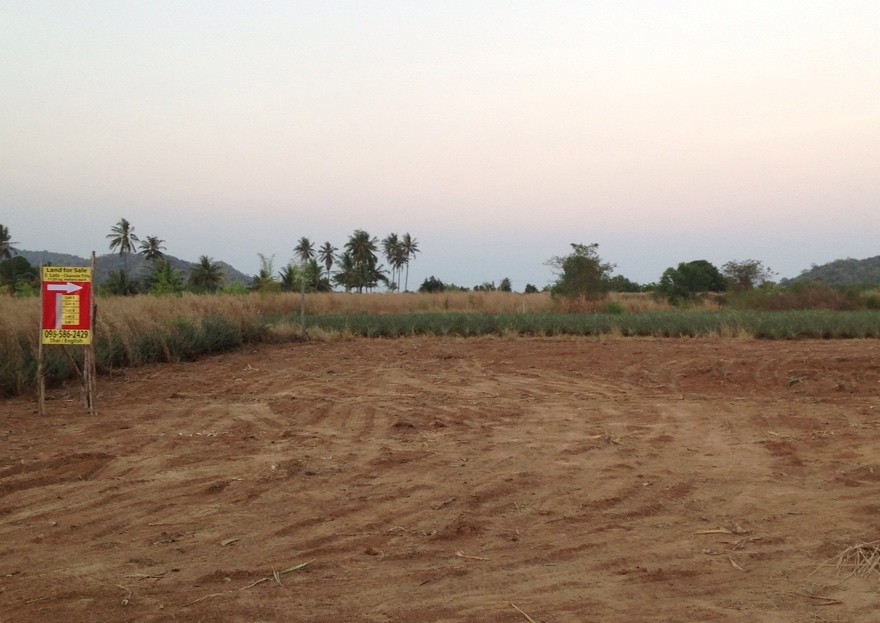 [:en]Perfect size Chanote title land for sale in Pranburi, Thailand[:]
