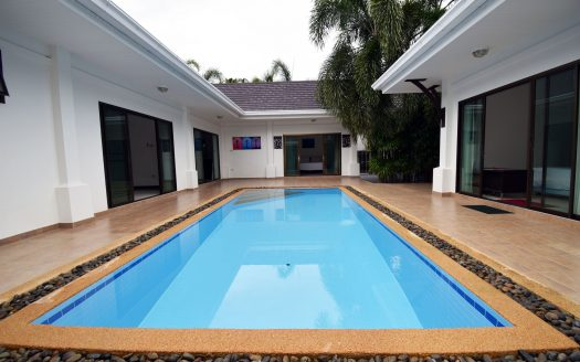 Hua Hin Pool Villa for Sale Pool view