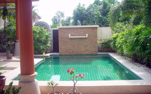 Pranburi Green Mountain View Pool Villa for sale outdoor area