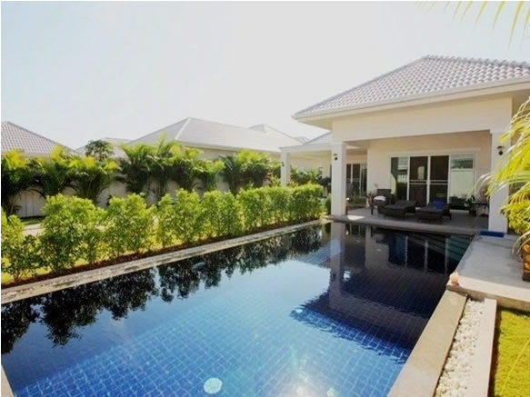 Luxury Hua Hin Pool villa for rent